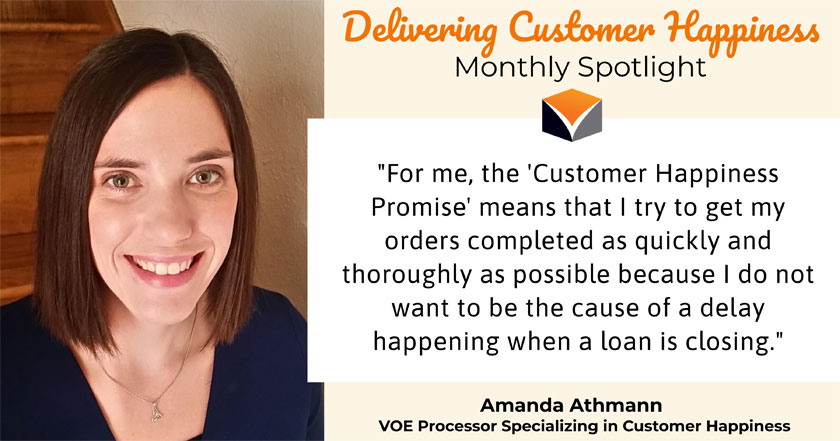 Delivering Customer Happiness Monthly Spotlight – featuring Amanda Athmann