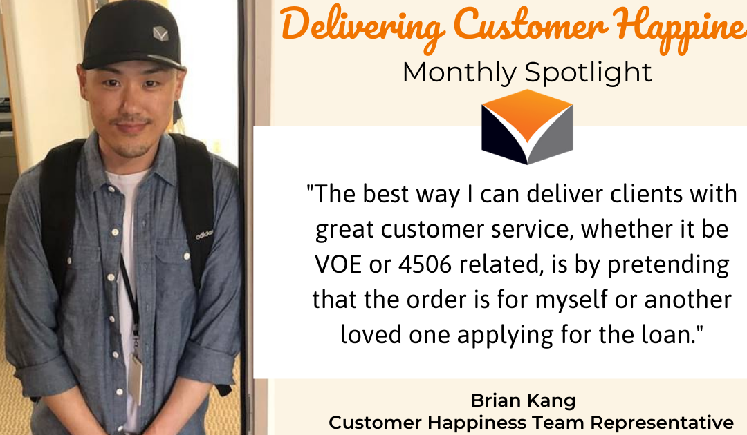 Delivering Customer Happiness Spotlight – featuring Brian Kang